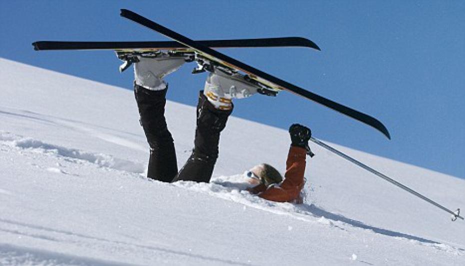 photo drole ski